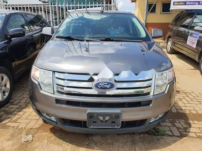 Foreign Used 2010 Blue Ford Edge for sale in Lagos.