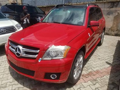 Foreign Used 2011 Red Mercedes-Benz GLK for sale