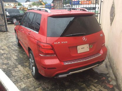 Foreign Used 2014 Red Mercedes-Benz GLK for Sale