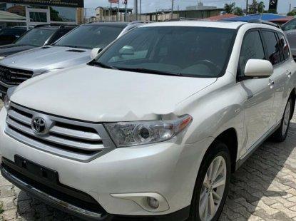 Foreign Used Toyota Highlander 2015 Model White