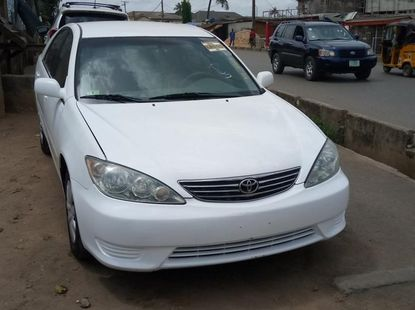 Foreign Used Toyota Camry 2005 Model White