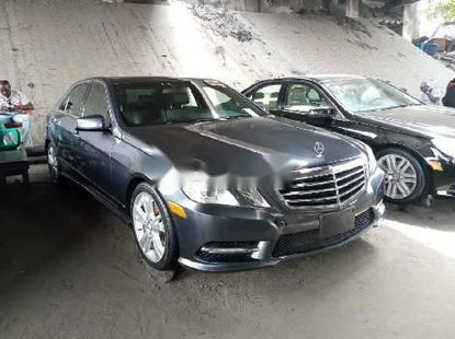 Foreign Used Mercedes-Benz E350 2013 Model Gray