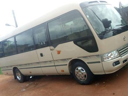Foreign Used 2010 Toyota Coaster for sale in Lagos.