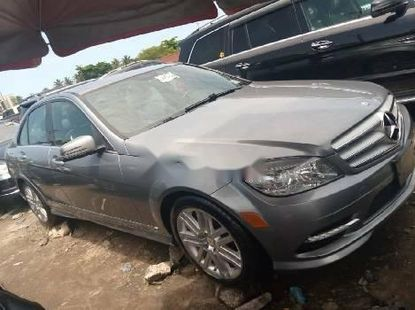 Foreign Used Mercedes-Benz C300 2010 Model Gray