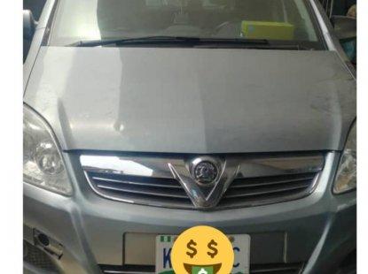 Nigeria Used Opel Zafira 2010  Model Silver