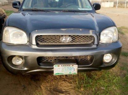 Locally Used 2002 Hyundai Sonata for sale in Lagos.