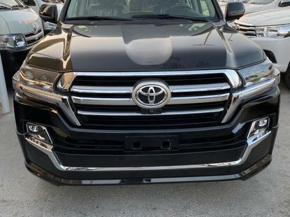 Foreign Used Toyota Land Cruiser 2014 M odel Black