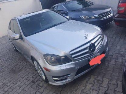 Nigeria Used Mercedes-Benz C300 2012 Model Silver