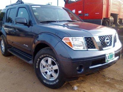 Nigeria UsedNissan Pathfinder 2005 Model Gray