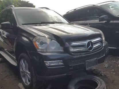 Foreign Used 2008 Dark Grey Mercedes-Benz GL Class for sale in Lagos.