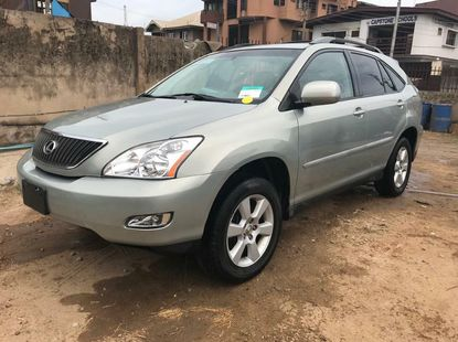 Foreign Used Lexus RX 2007 Model Silver
