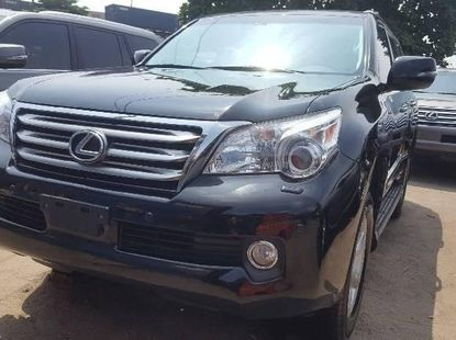 Foreign Used Lexus GX 2012 Model Blue