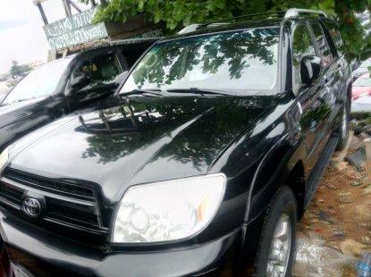 Foreign Used Toyota 4-Runner 2005 Model Black