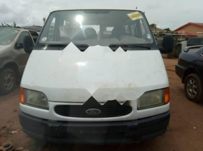 Foreign Used Ford Transit 2002 Model White