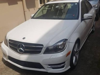 Foreign Used Mercedes-Benz C250 2013 Model White