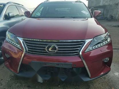 Foreign Used Lexus RX 2010 Model Red
