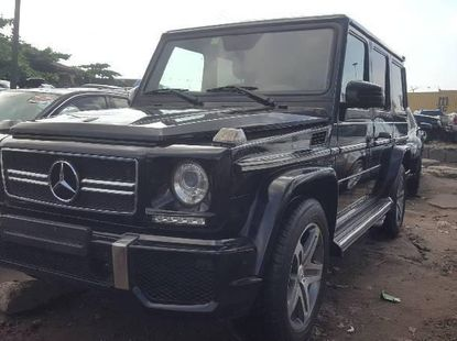 Foreign Used 2014 Black Mercedes-Benz G63 for sale in Lagos.