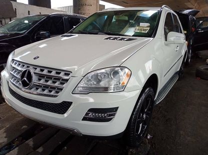 Foreign Used Mercedes-Benz ML350 2011 Model White
