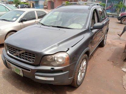 Nigeria Used Volvo XC90 2005 Model Gray