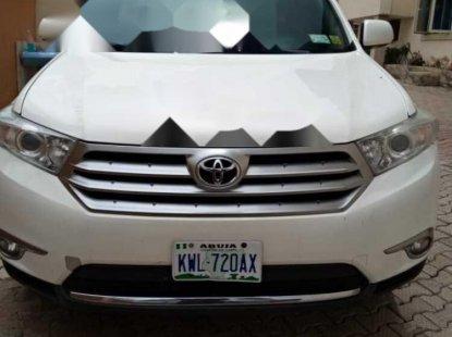 Nigeria Used Toyota Sienna 2012 Model White