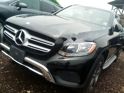 Foreign Used Mercedes-Benz GLC 2017 Model Black