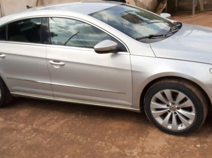 Nigeria Used Volkswagen CC 2012 Model Silver