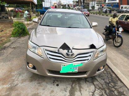 Nigeria Used Toyota Camry 2008 Model Gold