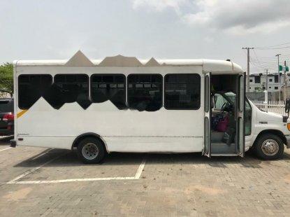 Nigeria Used Ford Econoline 2006 Model White
