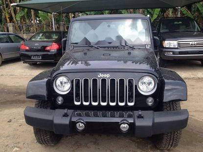Foreign Used 2016 Black Jeep Wrangler for sale in Lagos.