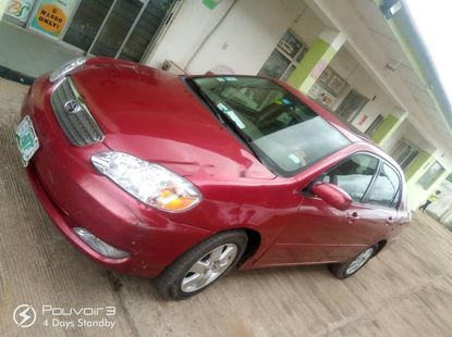 Locally Used 2006 Toyota Corolla for sale in Lagos.