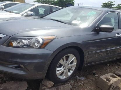 Foreign Used 2010 Grey Honda Accord for sale in Lagos.