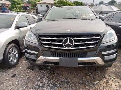 Foreign Used Tokunbo Mercedes-Benz ML350 2014 Model