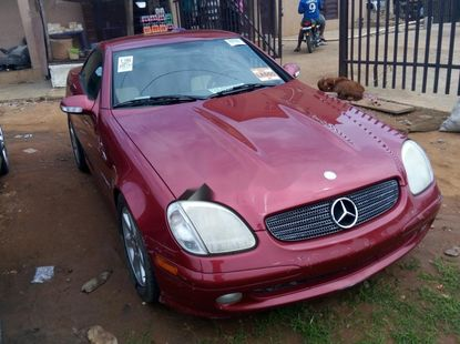 Foreign USed Mercedes-Benz SLK-Class 2002