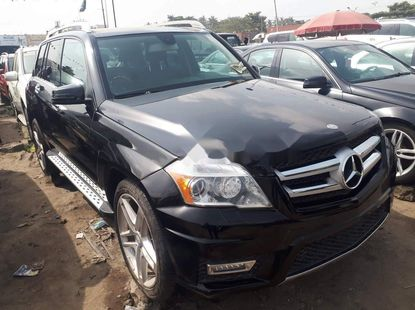 Foreign Used Mercedes-Benz GLK 2010 Model Gray