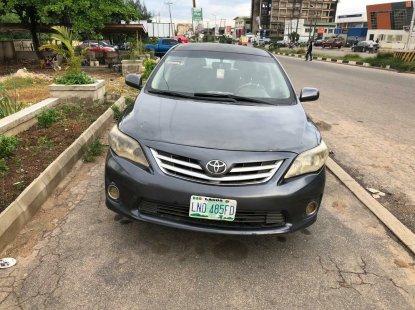 Nigeria Used Toyota Corolla 2012 Model Gray