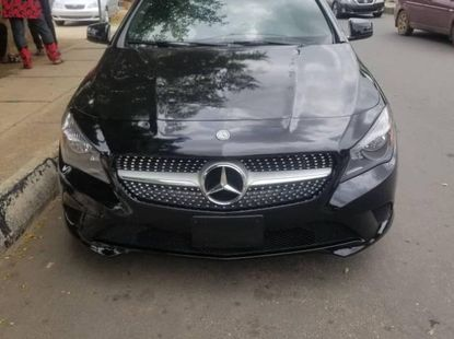 Foreign Used Mercedes-Benz CLA-Class 2016 Model Black