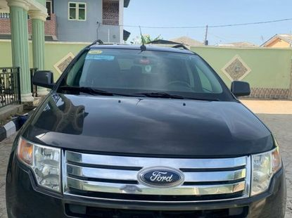 Foreign Used Ford Edge 2007 Model Gray