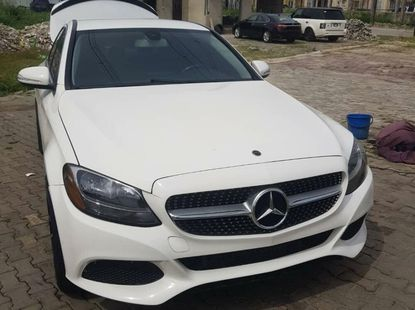 Nigeria Used Mercedes-Benz C300 2015 Model White