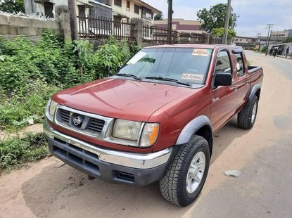 Foreign Used Nissan Frontier 2002 Model Red