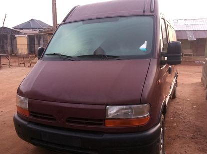 Foreign Used Renault Master 2000 Model Red