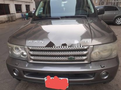 Locally Used 2008 Brown Land Rover Range Rover Sport for sale in Lagos.