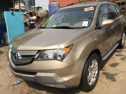 Foreign Used 2008 Acura MDX for sale