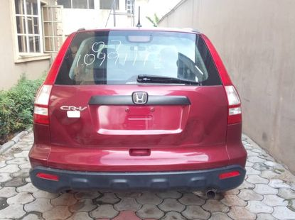 Foreign Used 2007 Honda CR-V Accident Free
