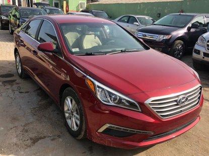 Foreign used Hyundai Sonata 2016