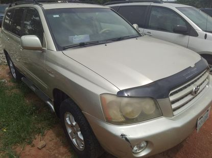 Toyota Highlander 2003 ₦1,650,000 for sale