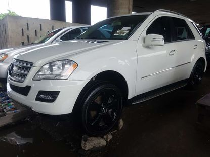Foreign used 2010 Mercedes Benz Ml350