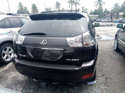 Foreign used 2007 lexus rx350
