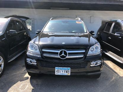 Foreign Used Mercedes Benz GL450 2007 Model