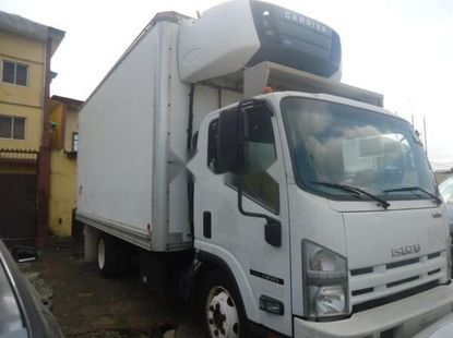 Clean white 2012 Isuzu NPR automatic for sale at price ₦11,500,000