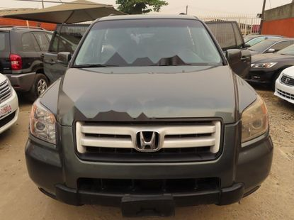 Sharp green 2007 Honda Pilot suv / crossover automatic for sale